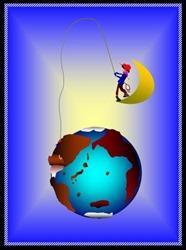 地球を釣れ1