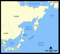図カムチャツカ半島